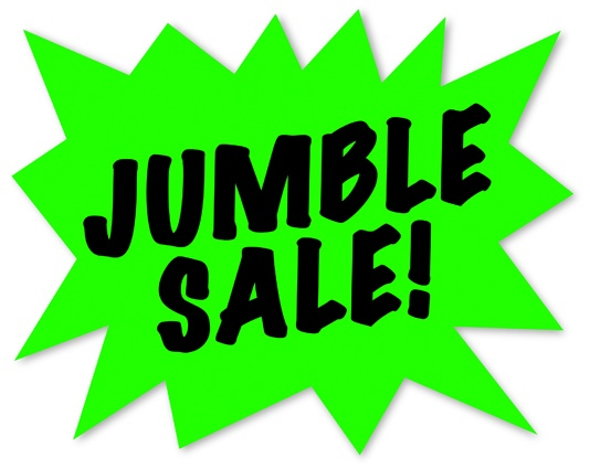 Jumble Sale Bargains 13th October 13:00 – 16:00