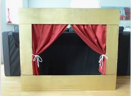 Making a Puppet Theatre with Kirsty